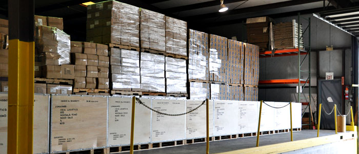 cross docking state of the art Jo-ed trucking inc operates a state-of-the-art warehouses and distribution centrally located in raritan  warehousing transloading cross docking fulfillment logistics.