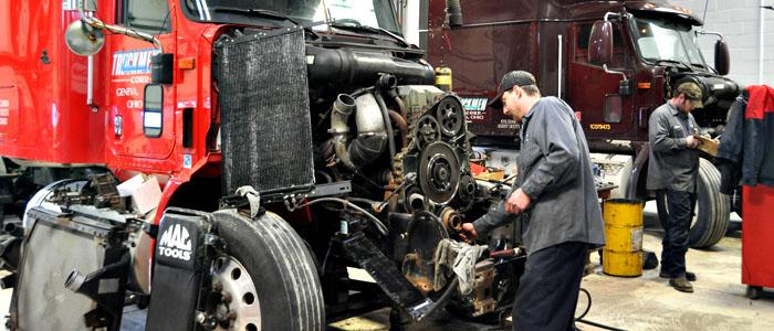 truck service, truck repair service